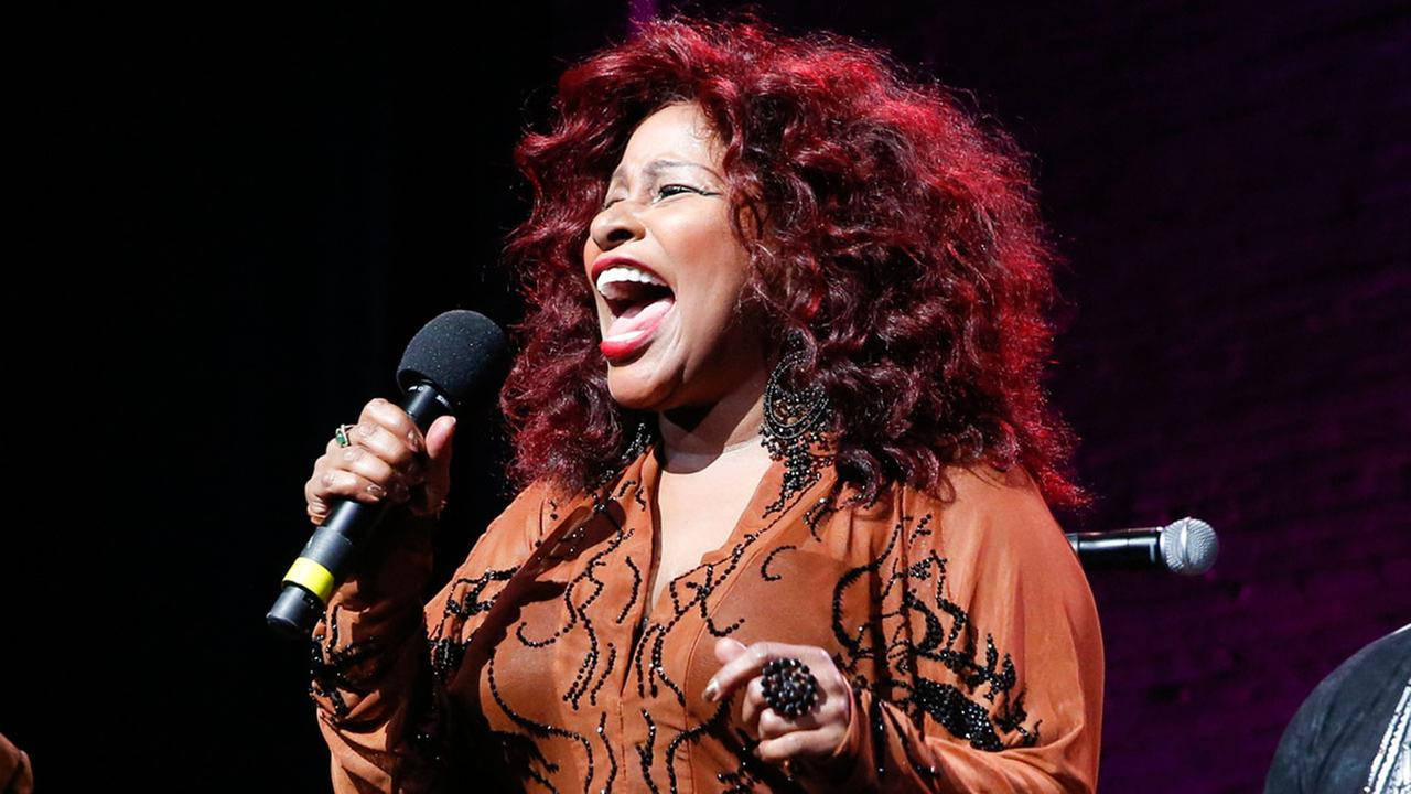 In this Oct. 24, 2014, file photo, Chaka Khan performs at the 13th annual A Great Night in Harlem gala concert in New York.Mark Von Holden/Invision/AP, File