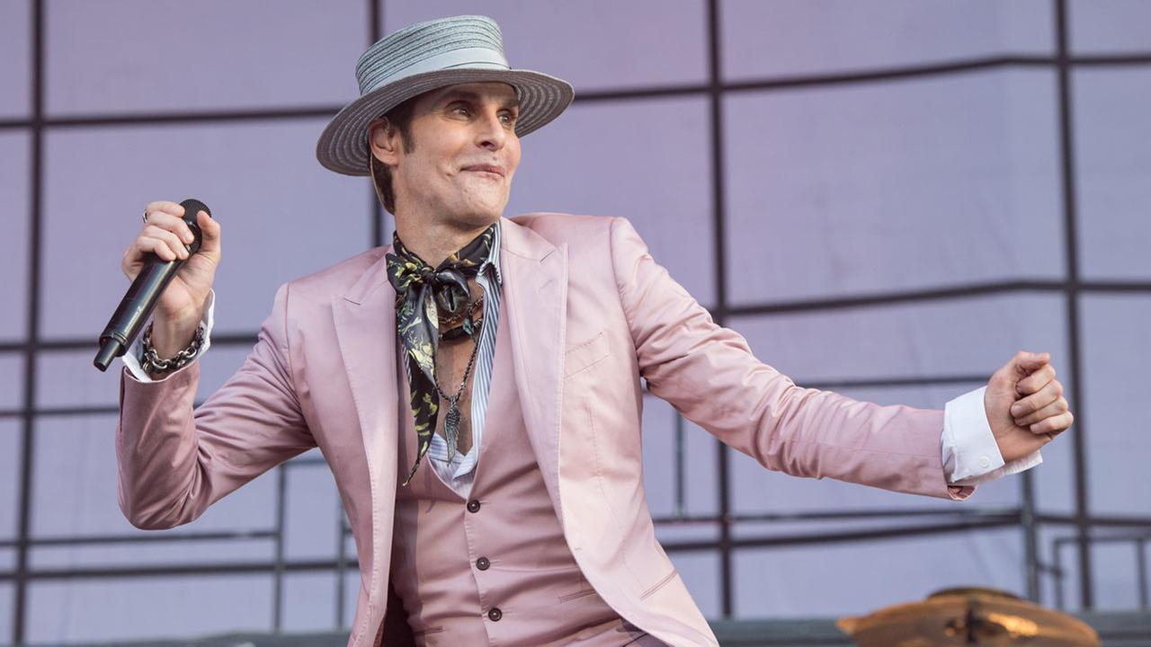 Perry Farrell of Janes Addiction performs on day 3 of Lollapalooza on Saturday, July 30, 2016, in Chicago.Amy Harris/Invision/AP
