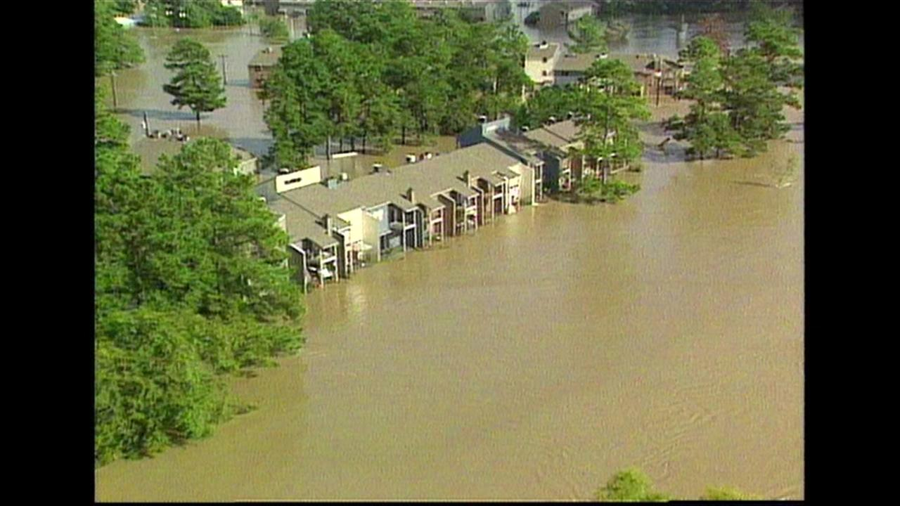 ABC13 coverage of the flood of 1994.