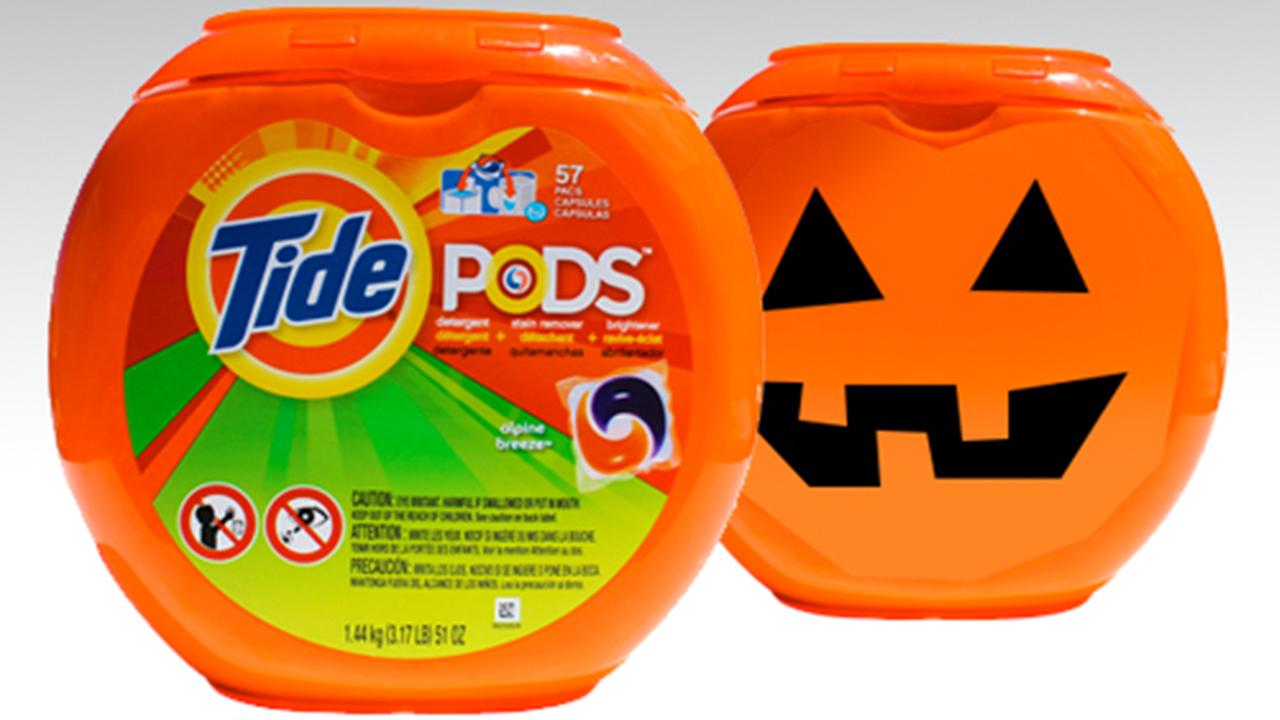 Consumer Reports says Halloween buckets are a scary reminder of why laundry pods are still a problem