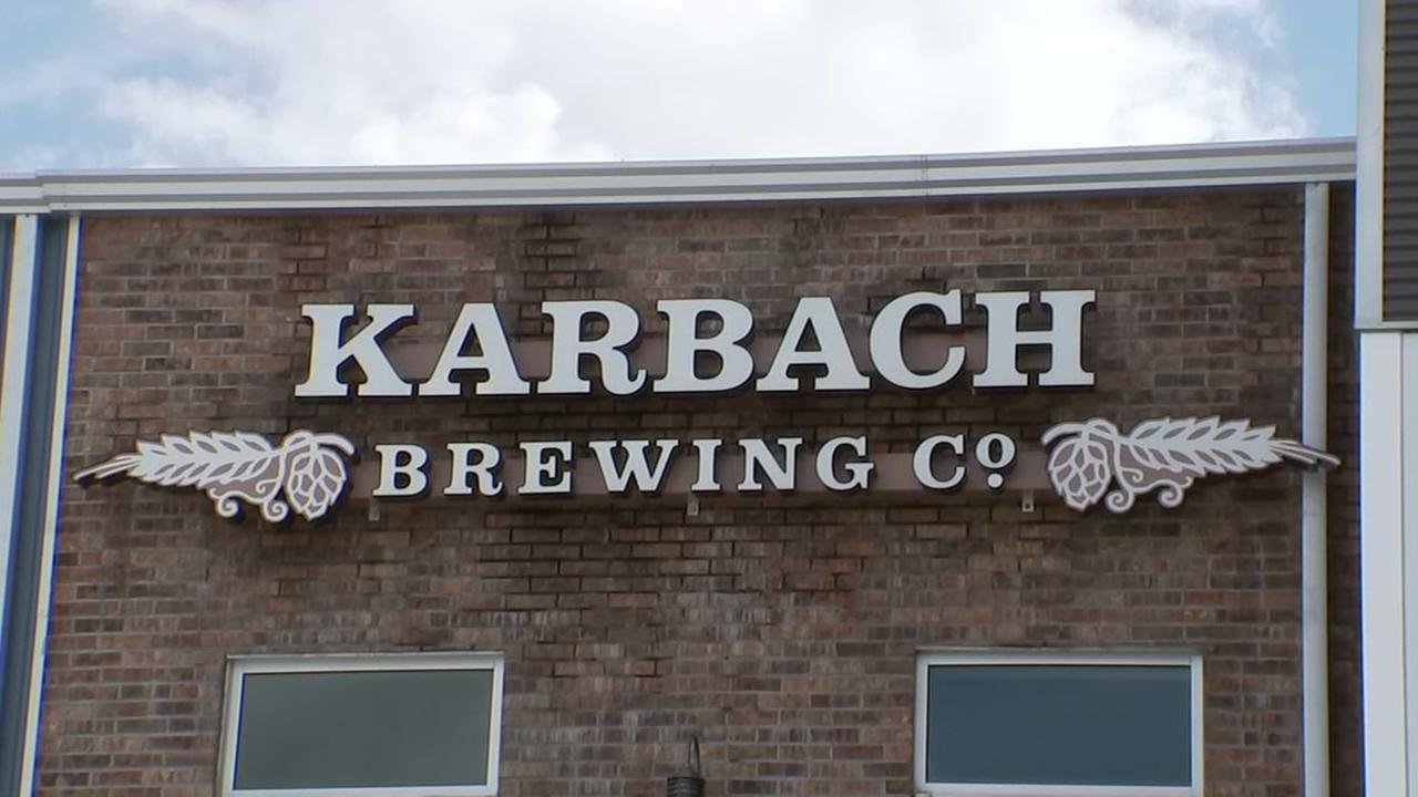 The outside of Karbach Brewing is seen in this photo from a KTRK story.