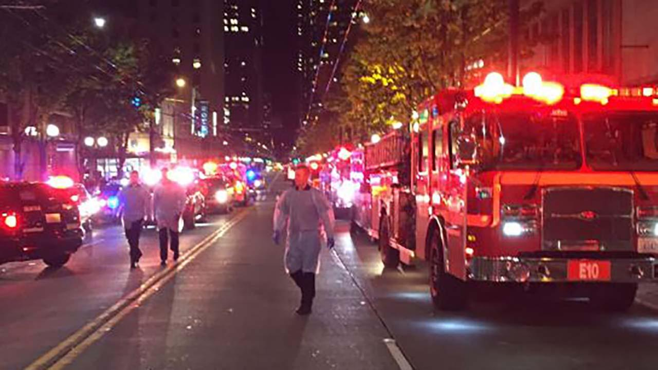 5 injured in downtown Seattle shooting