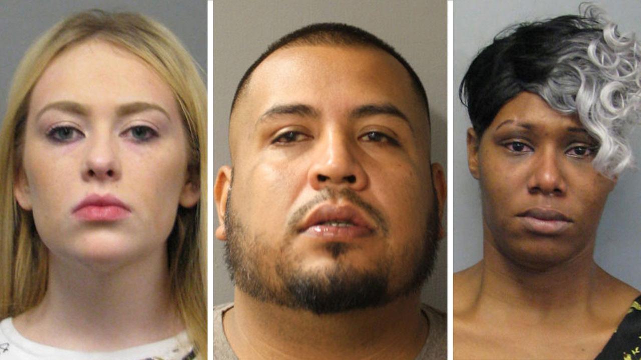 Precinct 4 prostitution bust suspects