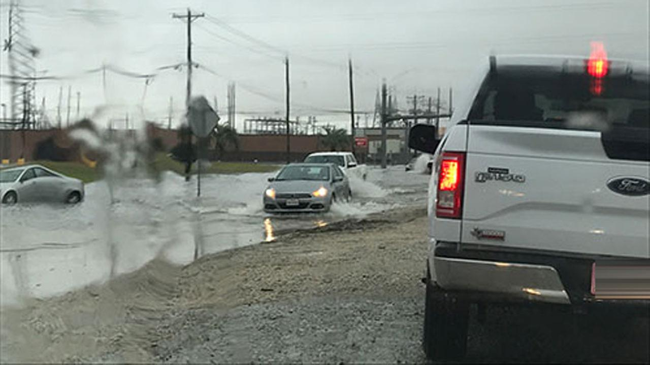Texas City flooding