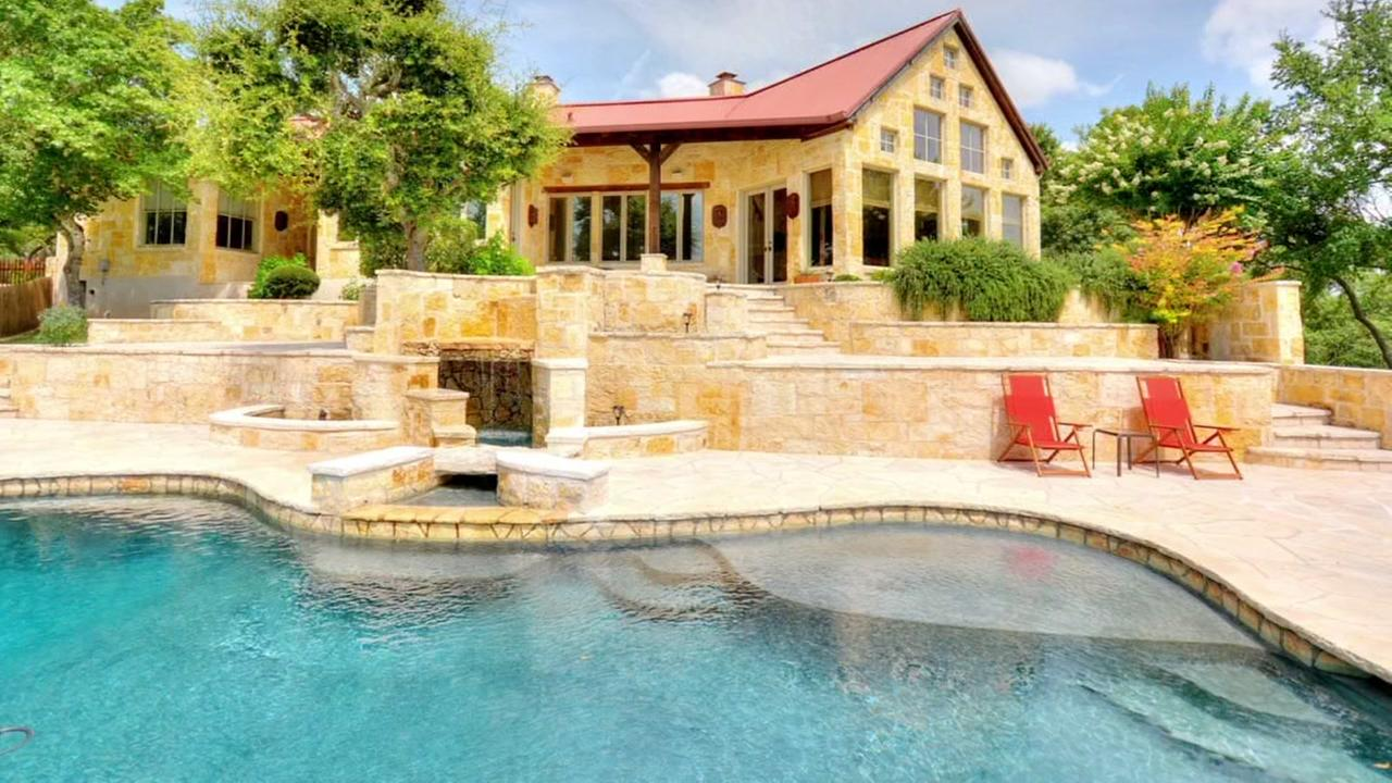 Hill Country mansion of Patron founder John Paul DeJoria. Courtesy: DMTX Realty Group