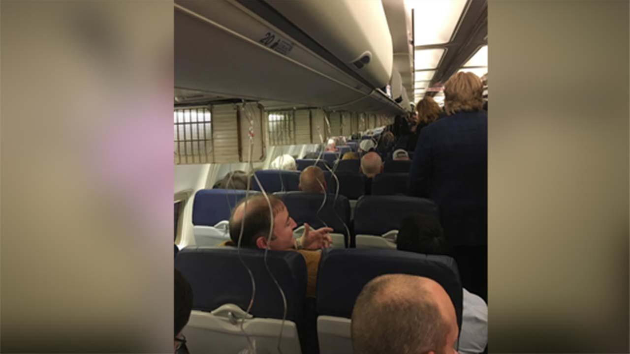 Southwest plane had to make an emergency landing.