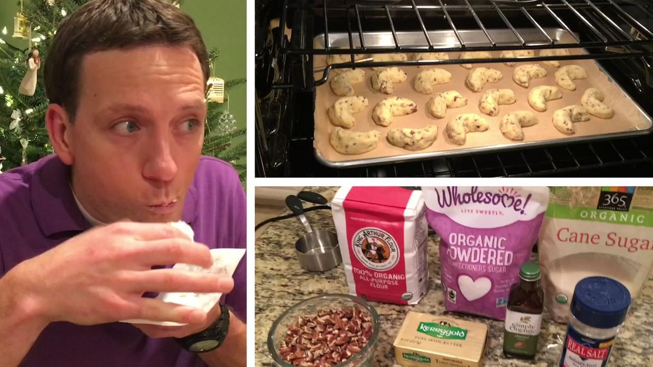 Travis Herzogs recipe for Russian cookies.