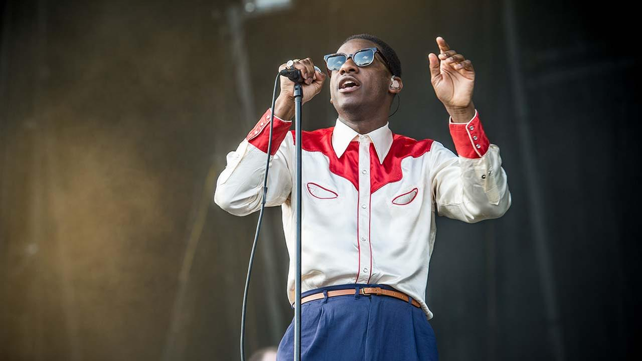 Leon Bridges performs on day 3 of Lollapalooza on Saturday, July 30, 2016, in Chicago. (Photo by Amy Harris/Invision/AP)Amy Harris/Invision/AP