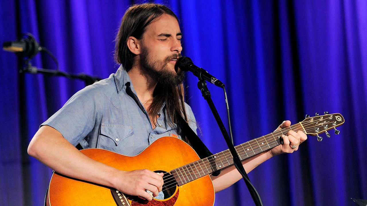 Singer-guitarist Robert Ellis performs at the Americana Music Honors and Awards nominations event on Thursday, May 31, 2012 in Los Angeles.  (Photo by Chris Pizzello/Invision/AP)Chris Pizzello/Invision/AP
