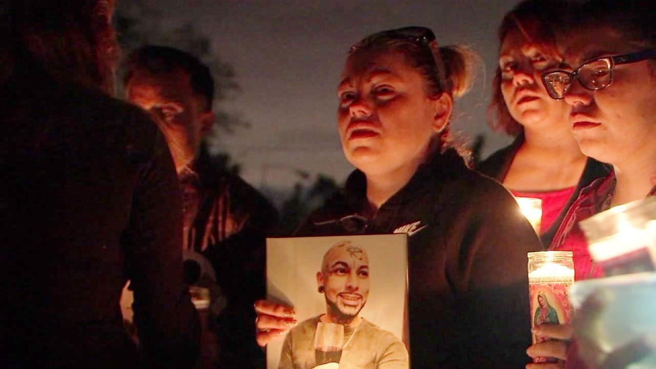 Furay candlelight vigil
