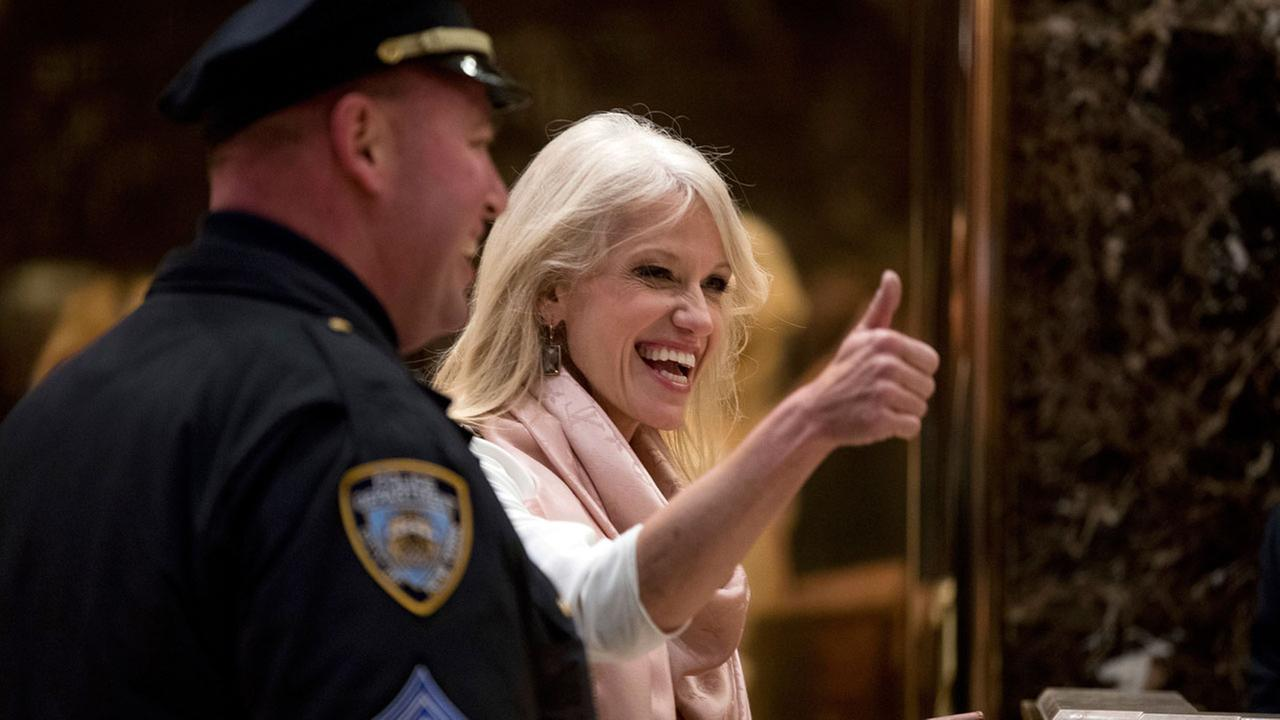 Donald Trump taps Kellyanne Conway as counselor to president