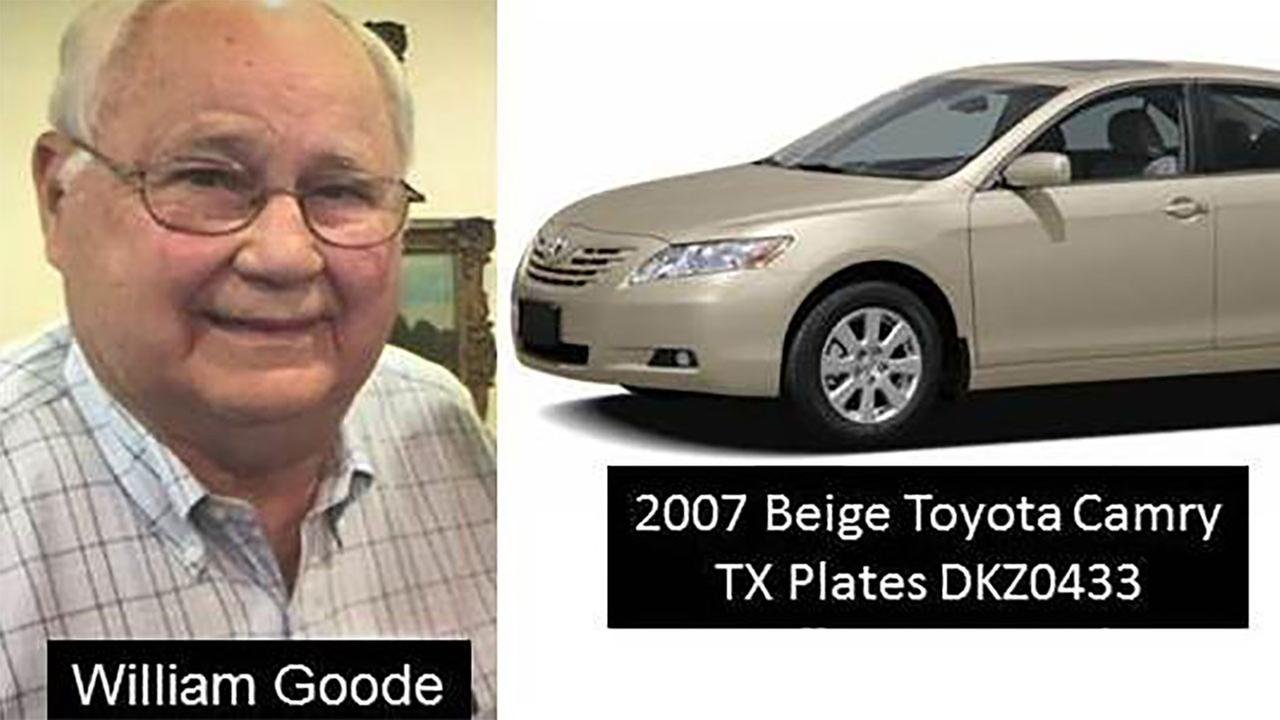 Dallas police say 81-year-old William Goode is missing.