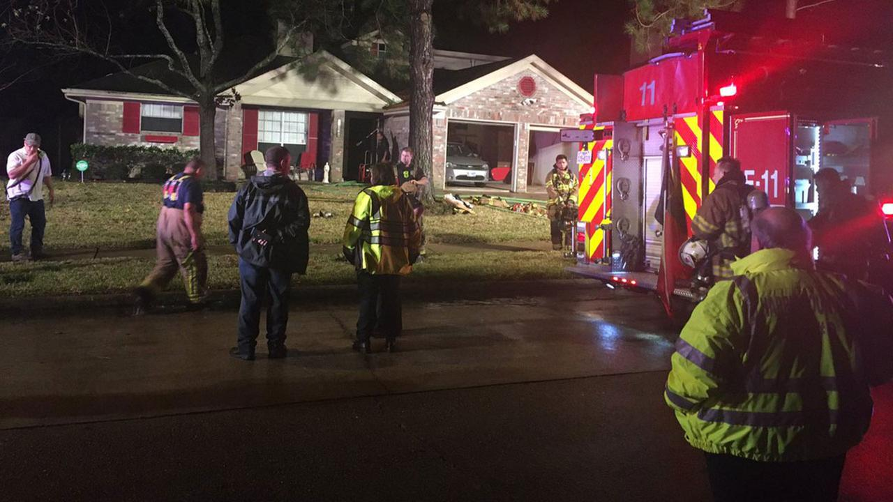 Copperfield house fire caused by lightning