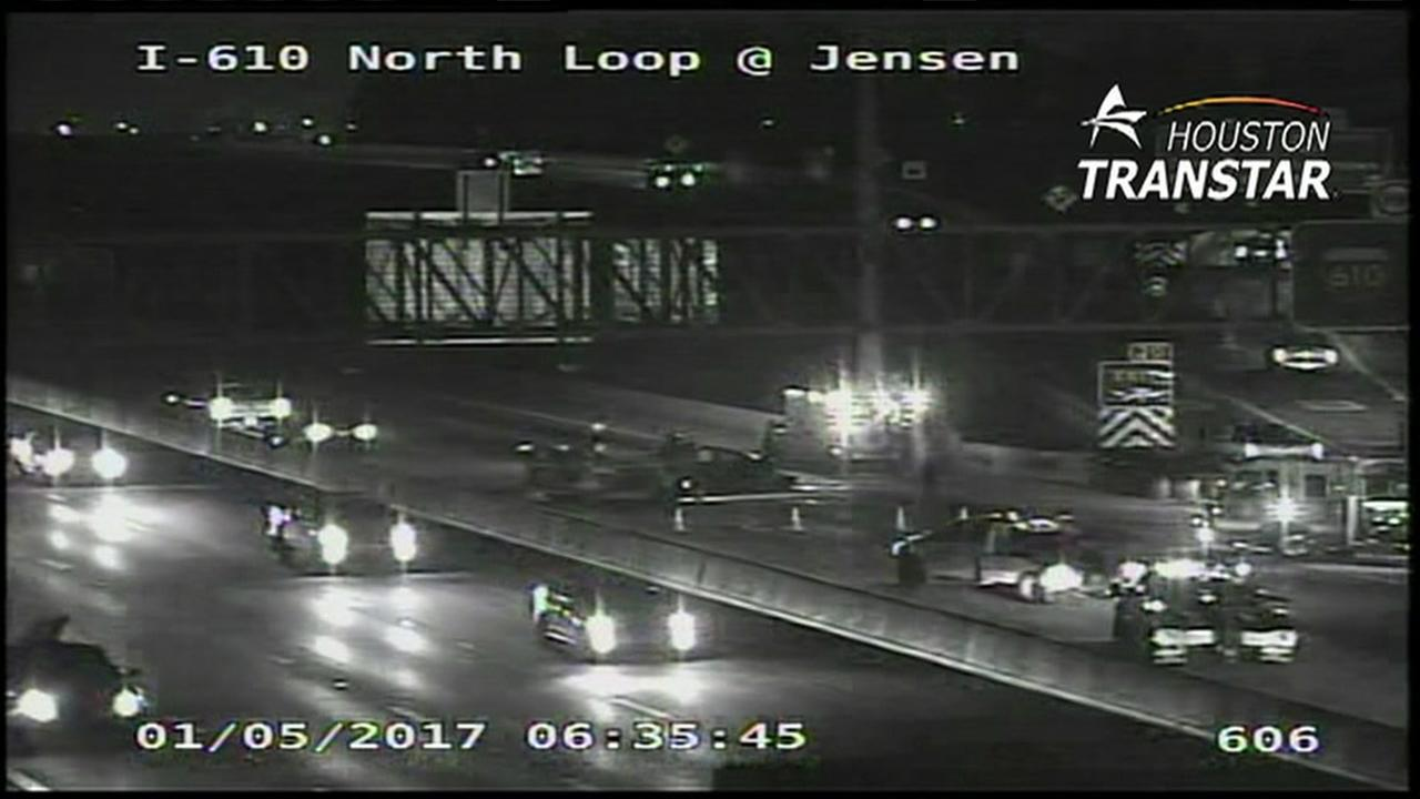 North Loop at Jensen crash