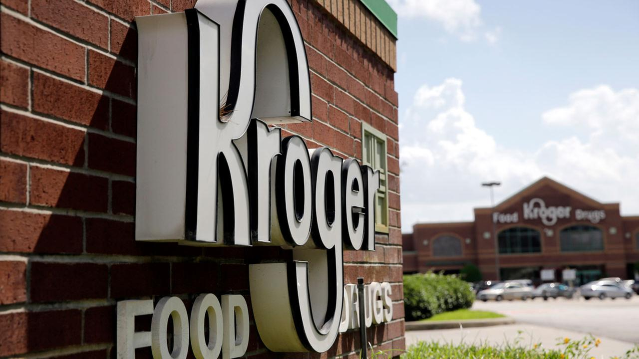 Grocery chain Kroger is Houstons seventh largest employer.AP Photo/David J. Phillip