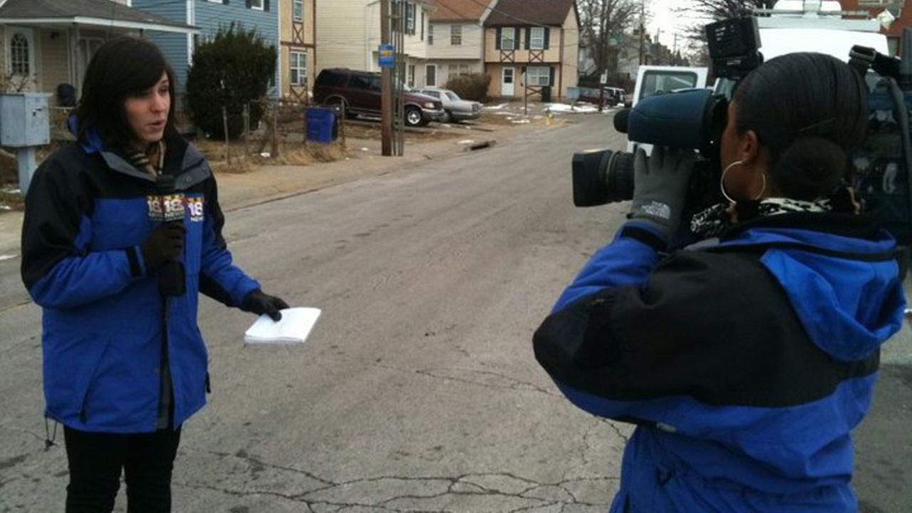 Before she was tackling Houston news, Courtney Fischer was reporting on happenings in Lexington, Kentucky.