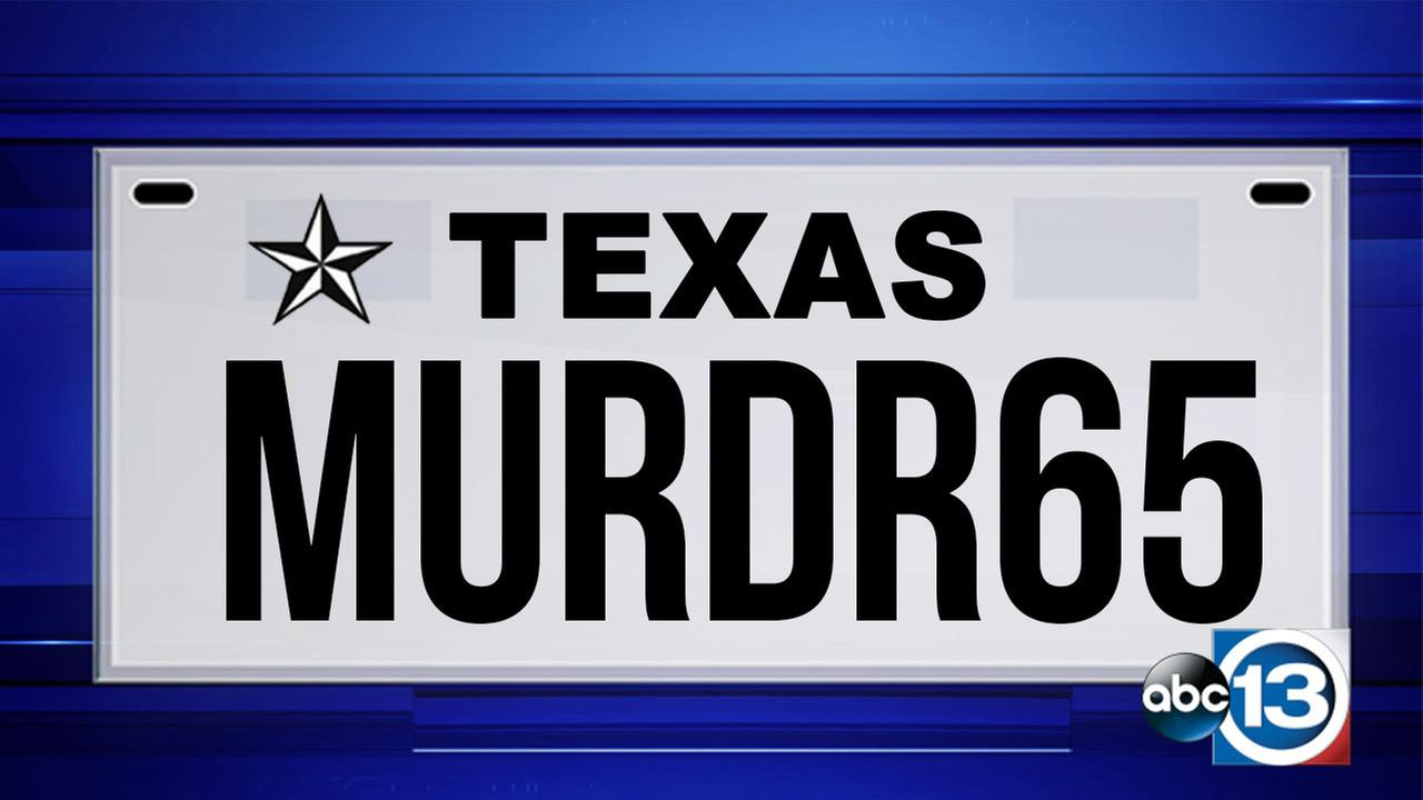 Texas officials rejected hundreds of requests for personalized license plates. This is a sampling.