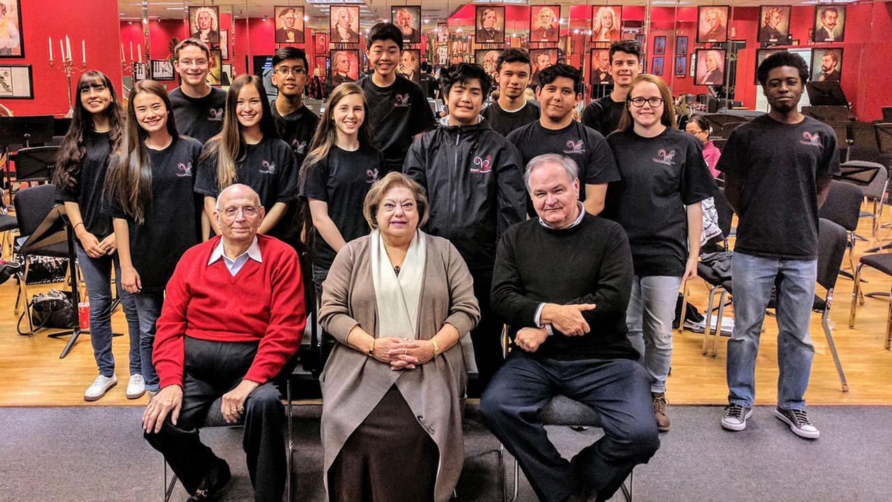 Seven Cy-Fair ISD musicians are among the 13 members of the the Virtuosi of Houston Young Artists Chamber Orchestra headed to the inauguration.