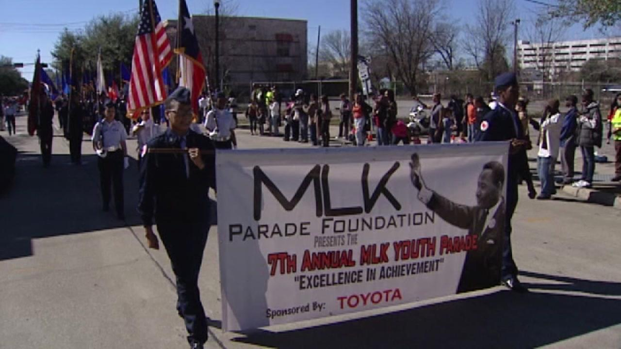 MLK Day parades in Houston