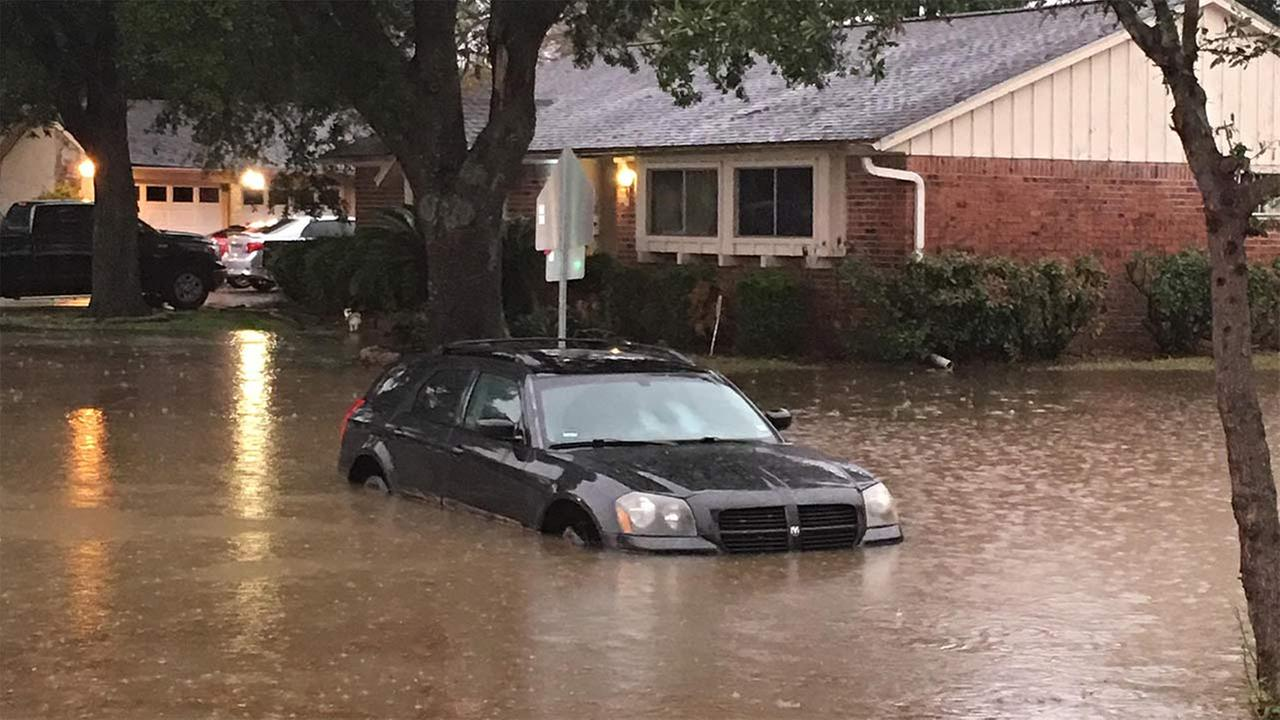 ABC13 Eyewitness viewer photo on Bonhomme Road near Sharpstown High SchoolKelvin Clark