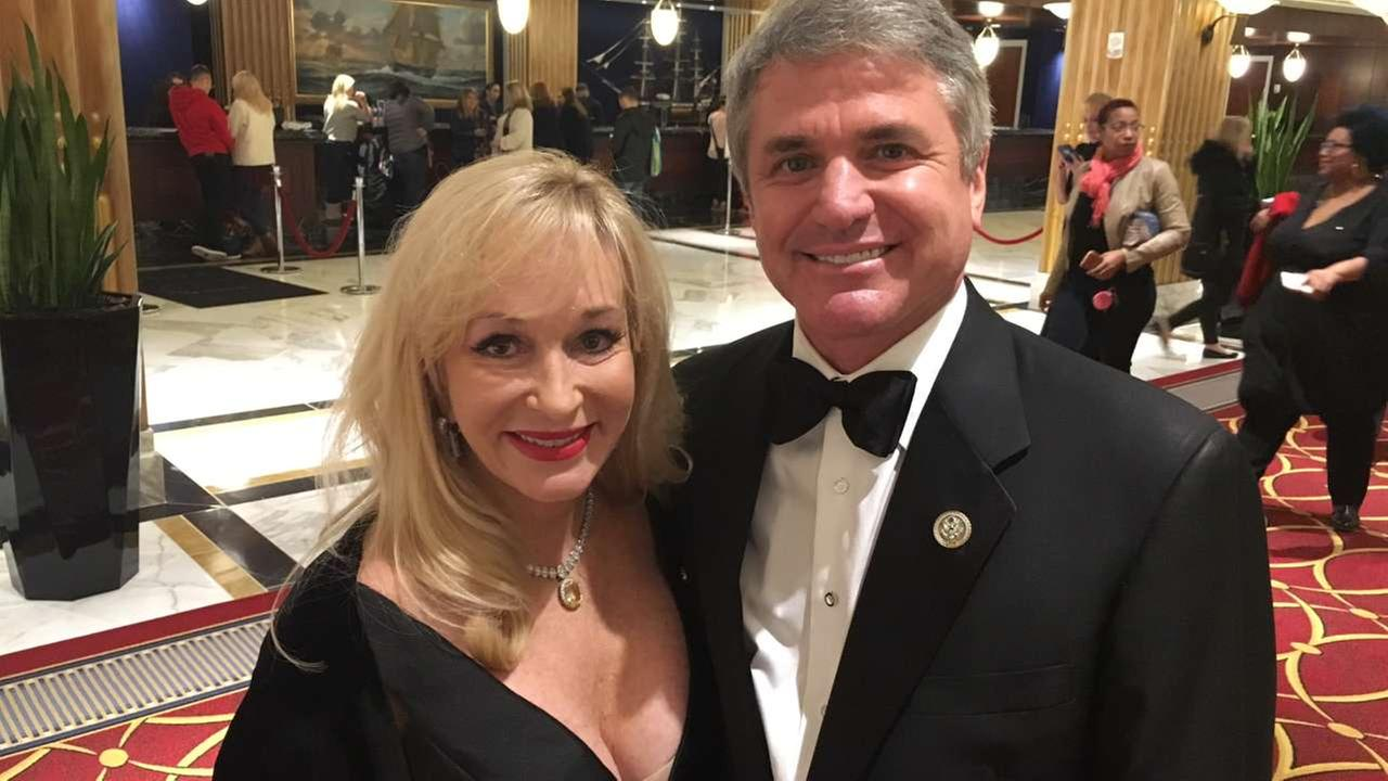 Texans represent well at inauguration balls Thursday night.Miya Shay