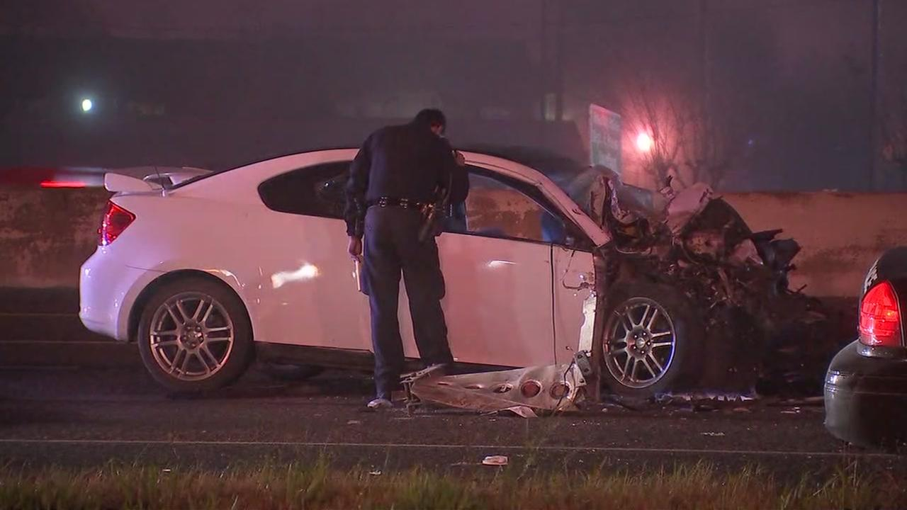 East Freeway crash