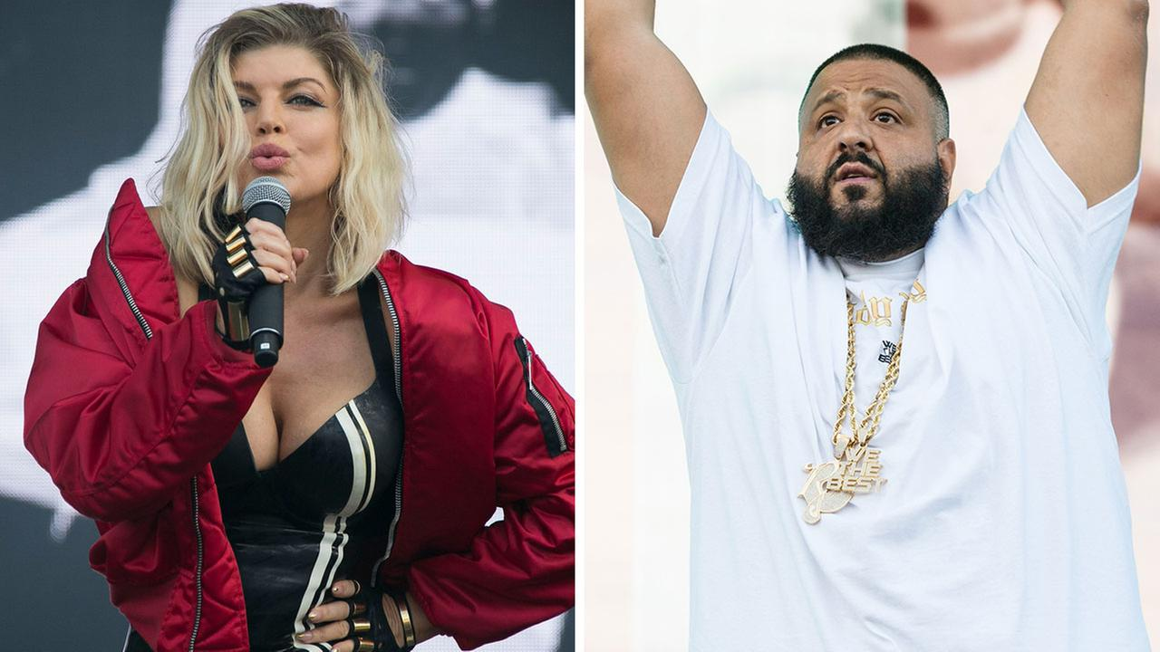 U.S. singer Fergie performs at Wireless Festival in north London, Sunday, July 10, 2016, DJ Khaled performs at The Budweiser Made In America Festival on Sunday, Sept. 4, 2016.