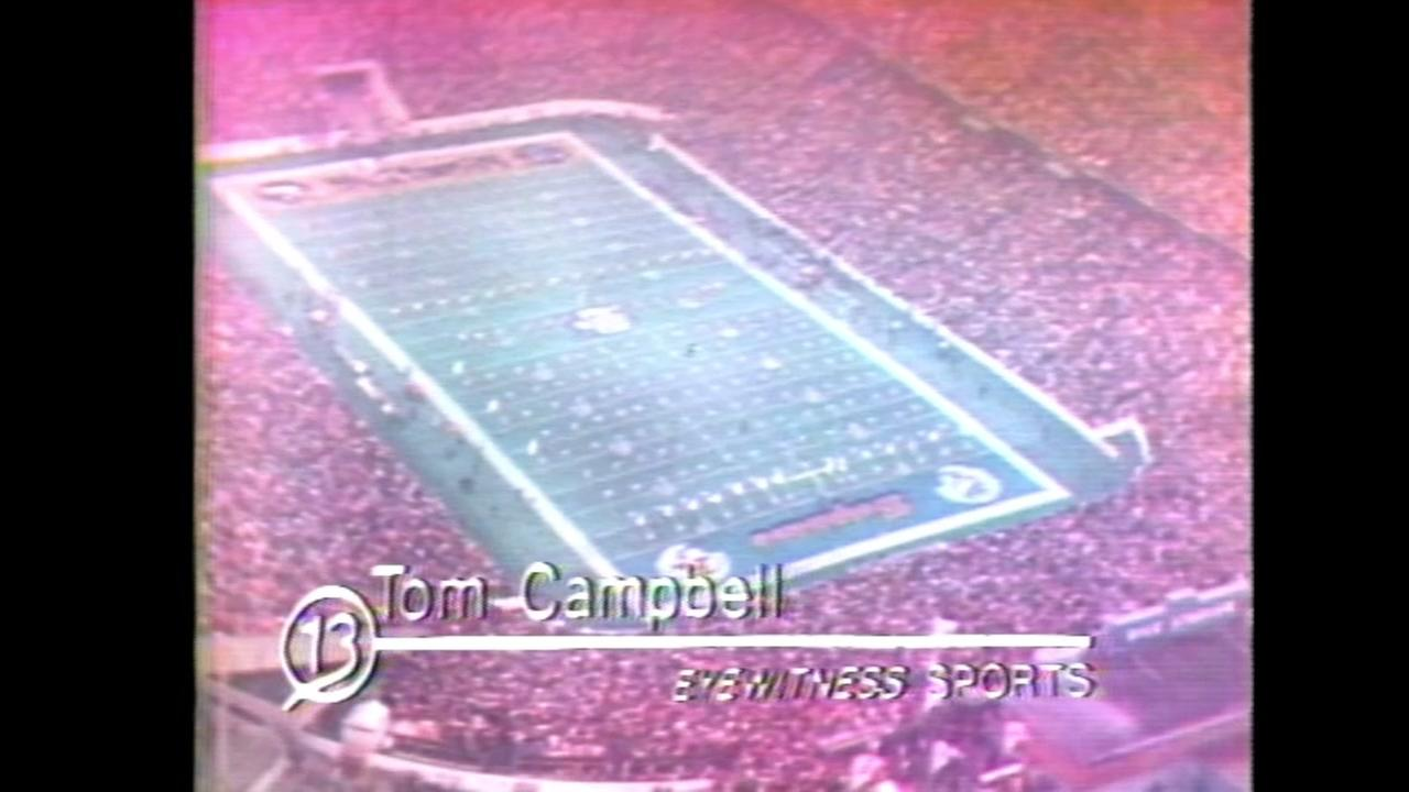 Photos of ABC13 coverage of Houstons first Super Bowl in 1974