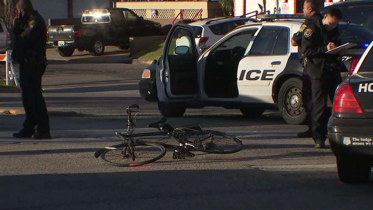 HPD bike accident