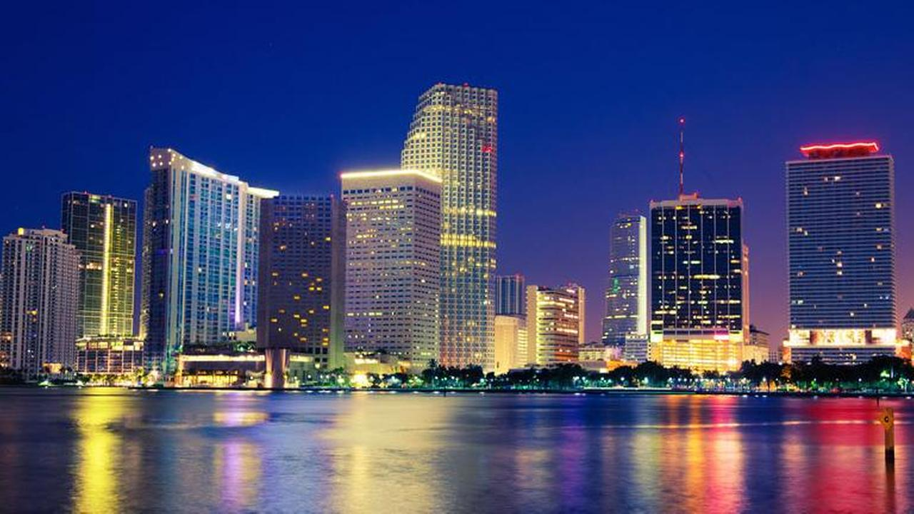 Miami, Florida, ranked #2 on Amazons list.Shutterstock