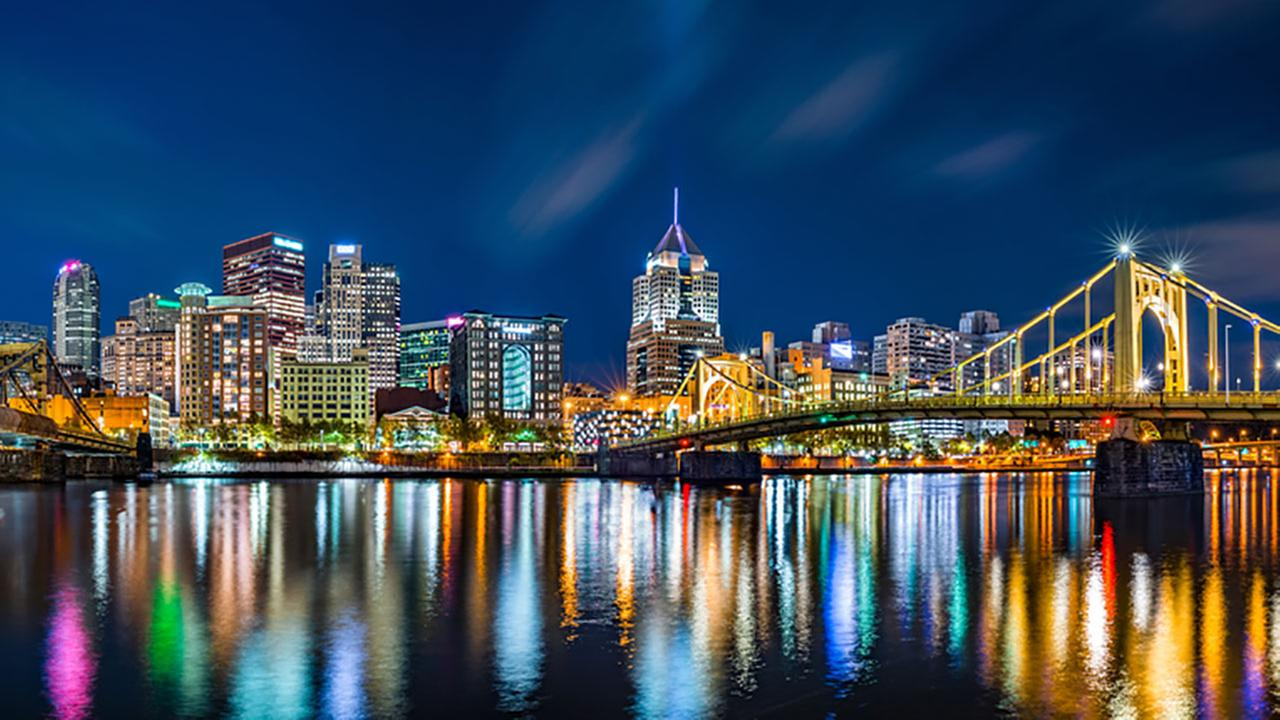 Pittsburgh, Pennsylvania, came in eighth place on Amazons list of most romantic cities.Shutterstock
