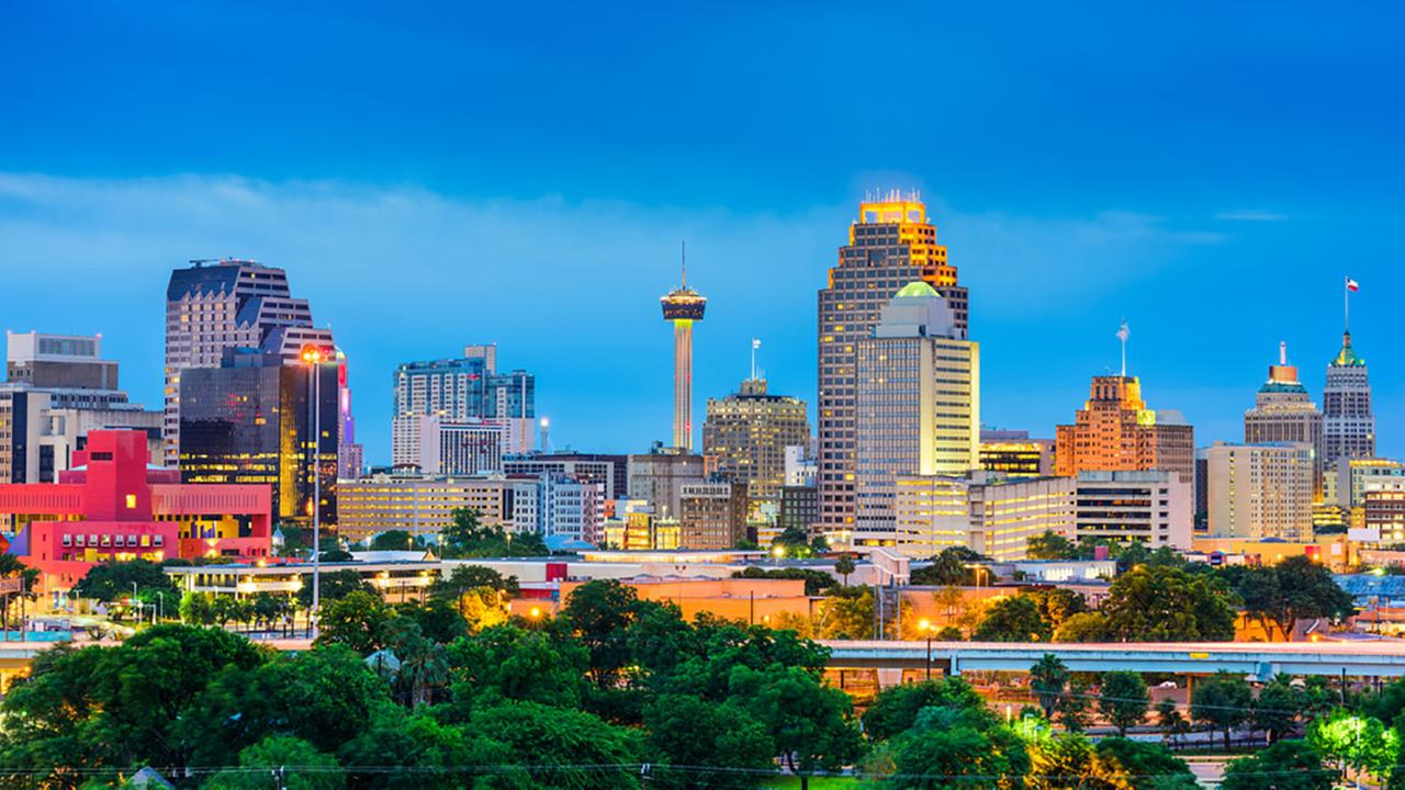 San Antonio, Texas, topped Amazons list of most romantic cities.Shutterstock