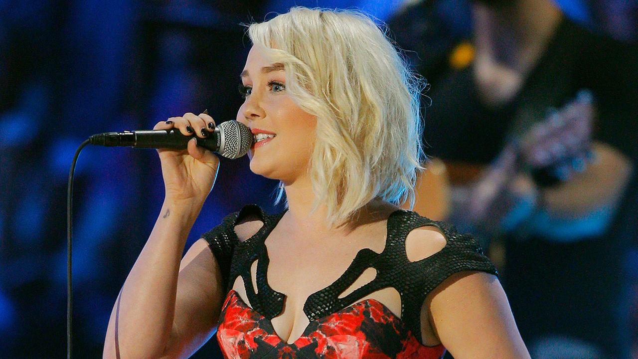 RaeLynn performs at the CMT Music Awards at Bridgestone Arena on Wednesday, June 10, 2015, in Nashville, Tenn.