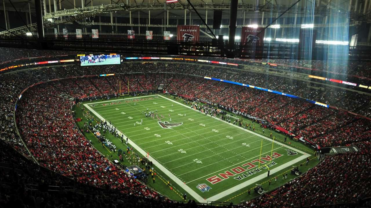 2019 - Inside the Atlanta Falcons stadium, where the Super Bowl will be held in 2019.AP