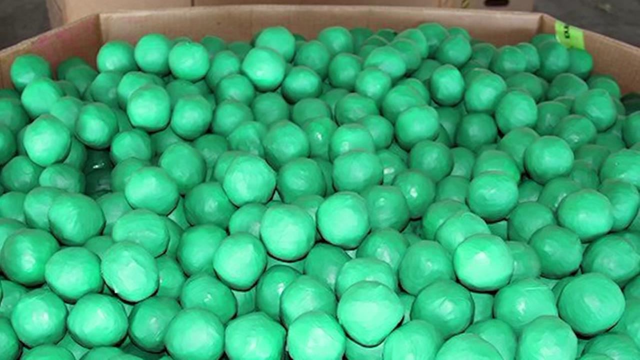 Nearly 4,000 lbs of marijuana found inside fake limes