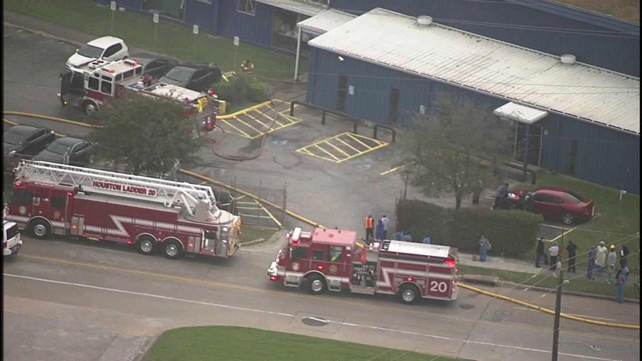 Employees evacuated from chemical plant