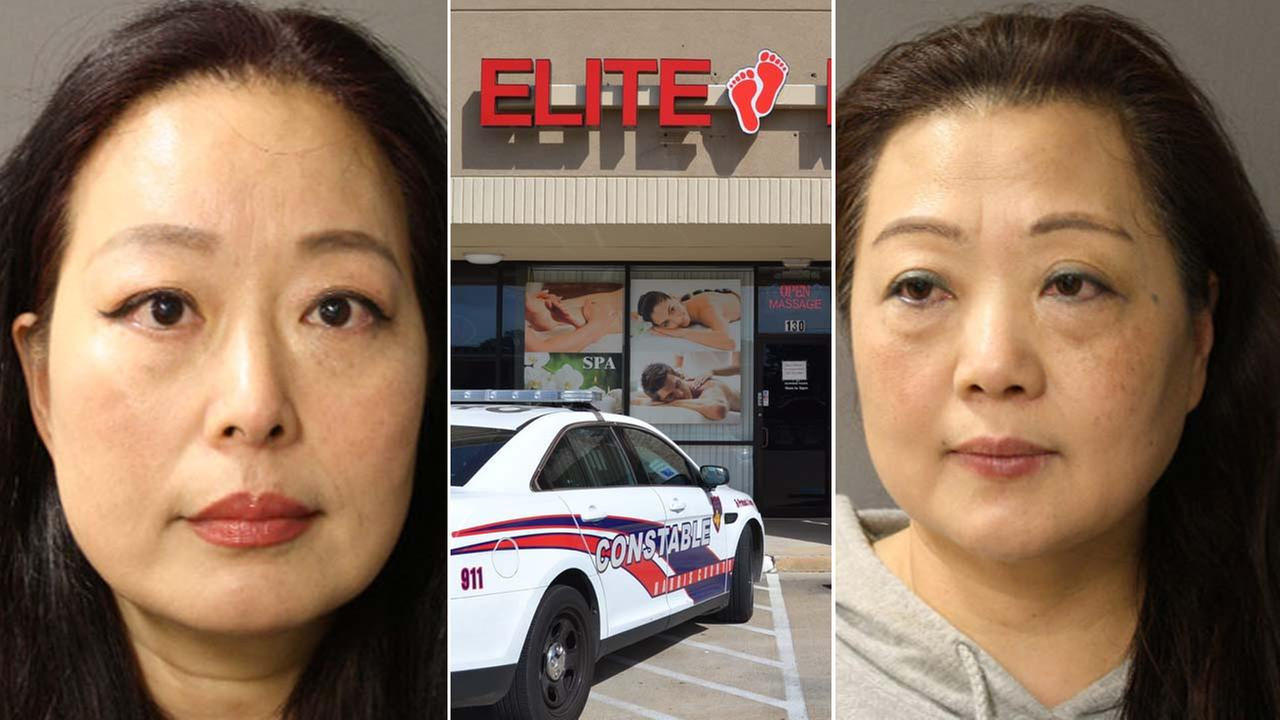 Massage spa arrests