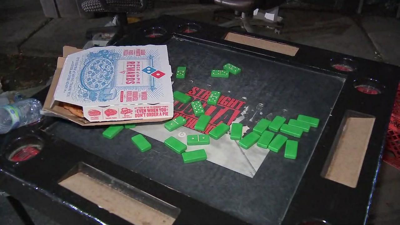 Man playing dominos shot by four robbers on Houstons south side, police say.