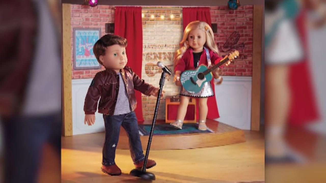 American Girls newest doll is a boy