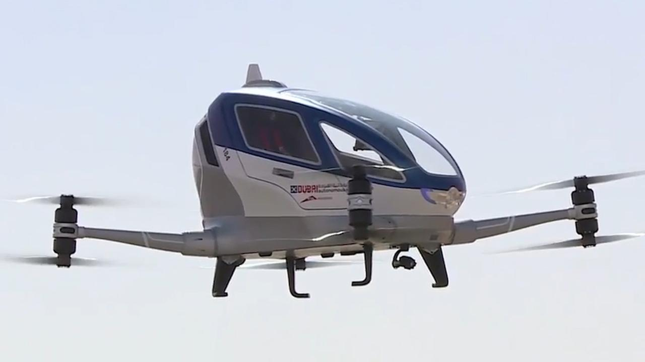The Future is here: unmanned passenger drones