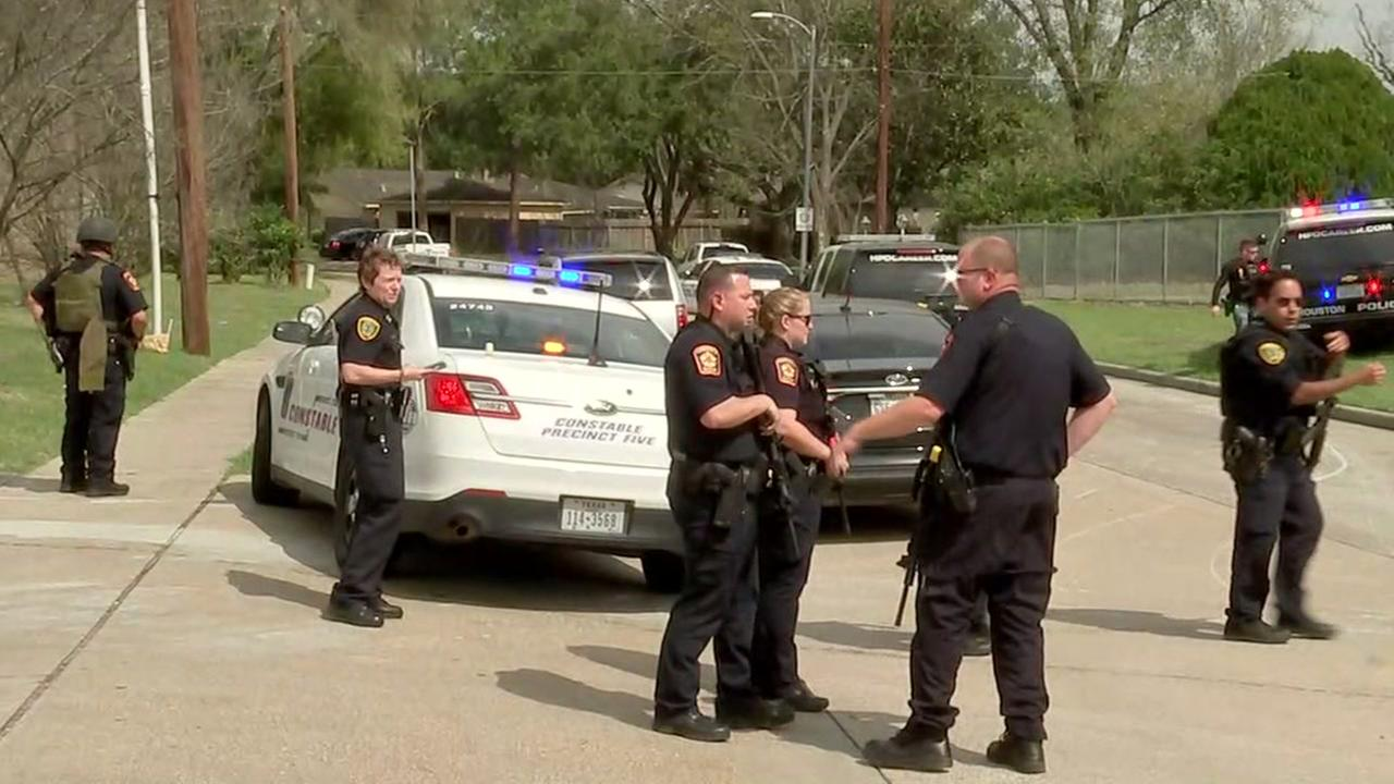 Two officers injured in shooting