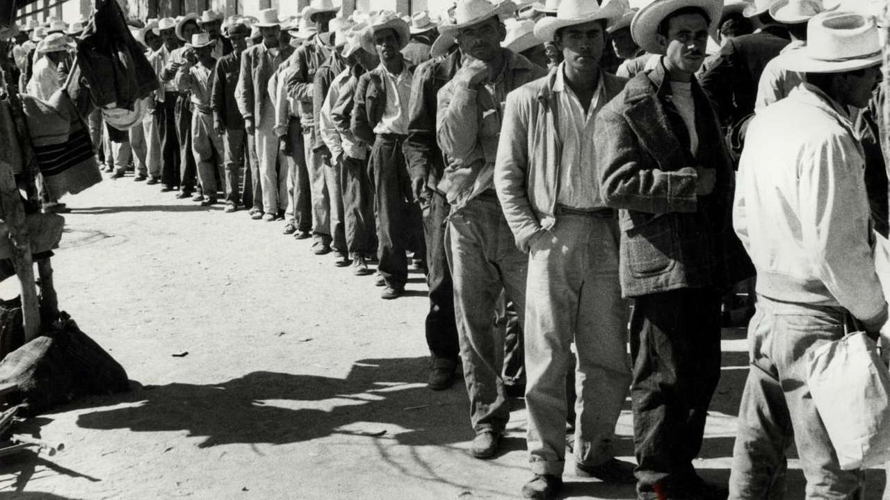 The bracero program is the largest guest-worker program in our nations history and recruited 4.6 million skilled Mexican nationals.AP