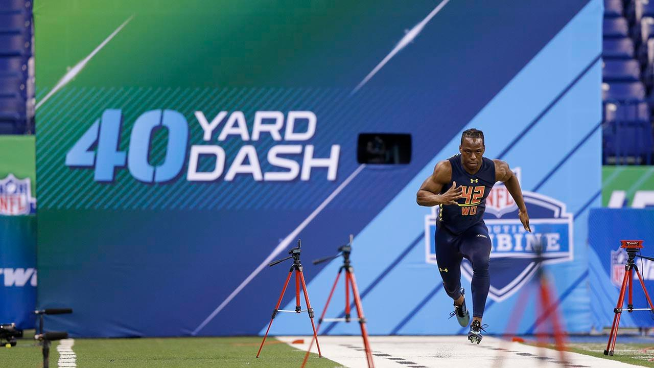 John Ross the NFL's new king of combine speed