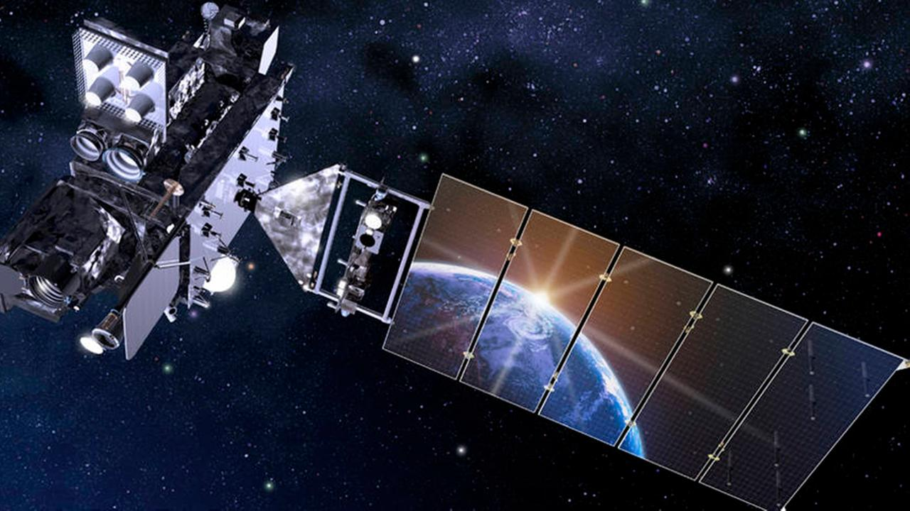 GOES-16 Artists Rendering/Credit: NASA