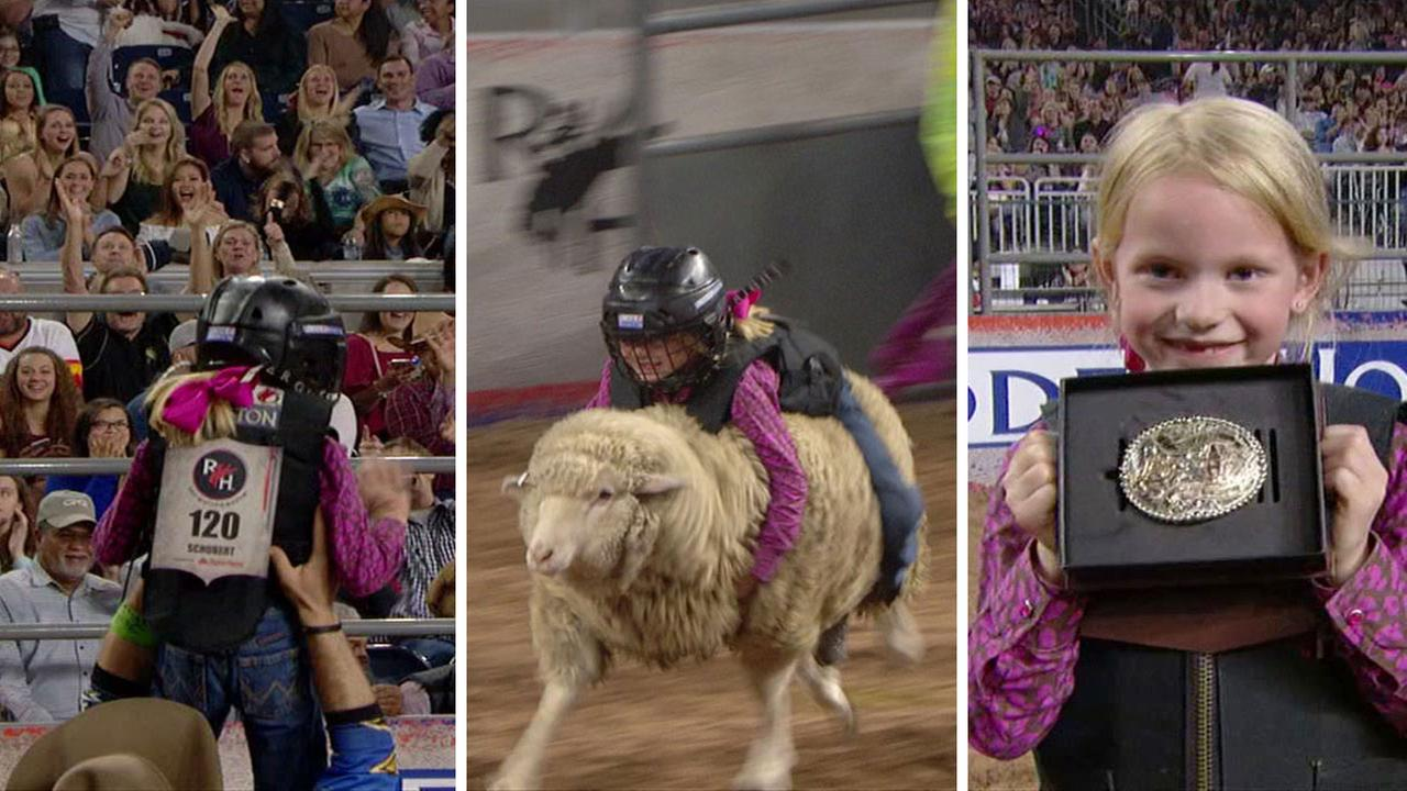 Landry Schubert - RodeoHouston Mutton Bustin Champion
