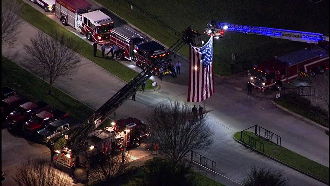 The community honors HFD Capt. Iron Bill Dowling