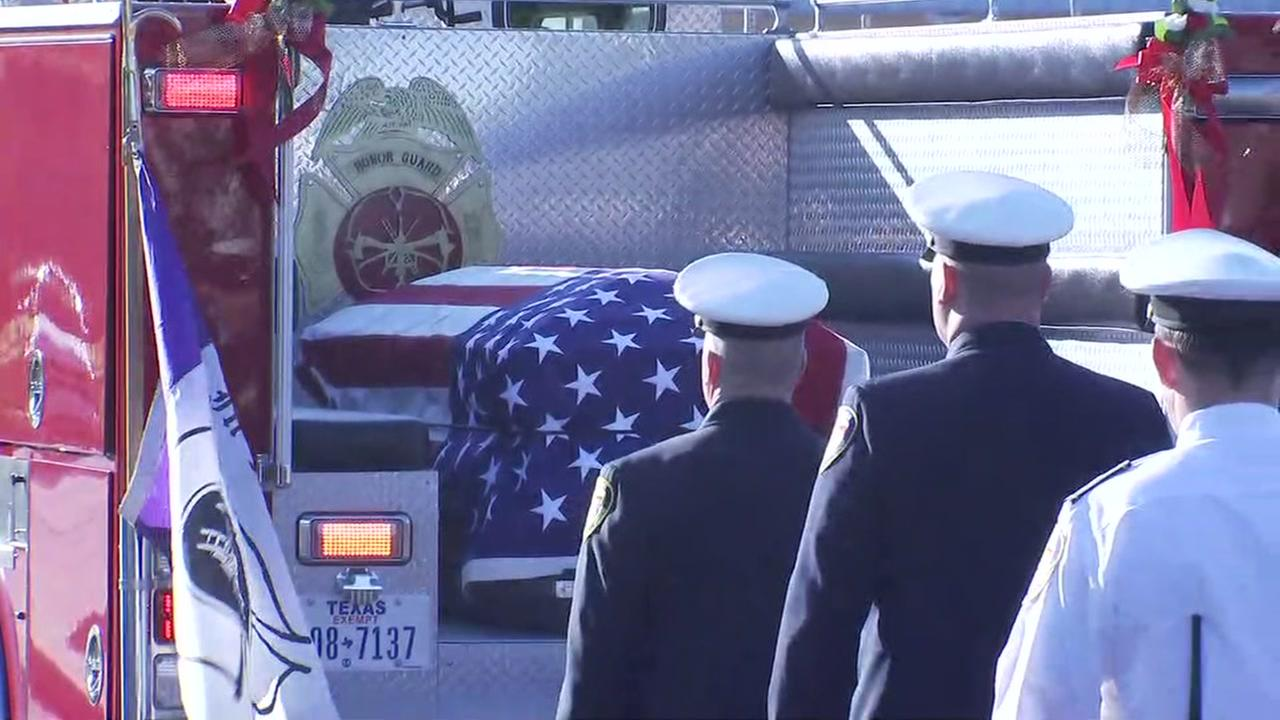 The community honors HFD Capt. Bill Dowling