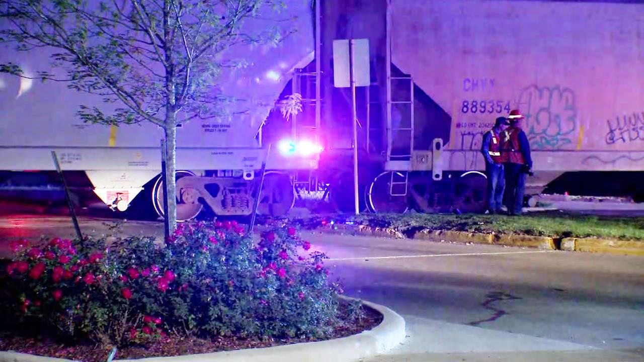 Deadly train incident in NW Harris County