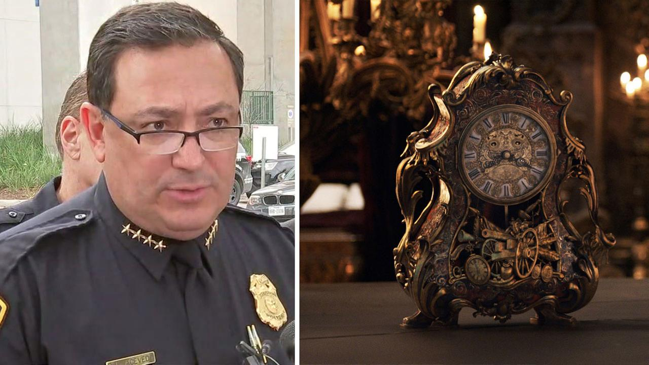 Houston Police Chief Art Acevedo as CogsworthDisney