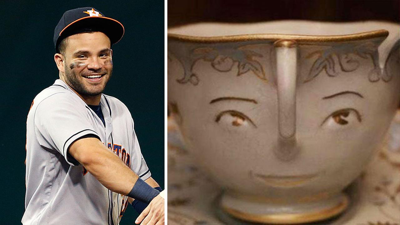 Houston Astros second baseman Jose Altuve as ChipAP Photo, Disney